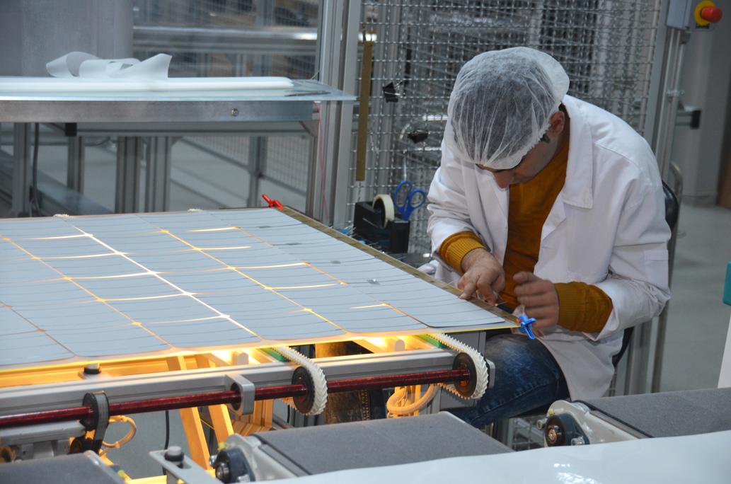 Güneş Paneli Üretimi