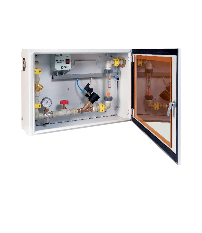 Hava Kontrollü Mekanik Debimetre